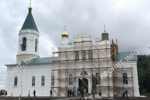 Храм Рождества Христова в с. Шовское