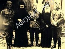 Немецкие солдаты на Афоне
