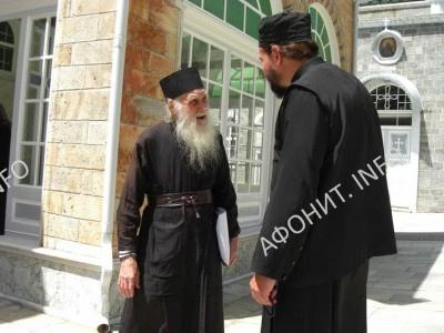 Игумен Пантелеимонова монастыря на Афоне схиархимандрит Иеремия (Алехин)