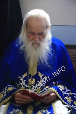 Игумен Пантелеймонова монастыря на Афоне схиархимандрит Иеремия (Алехин)