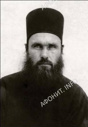 Иеромонах Ипполит на Афоне, конец 1960-х годов