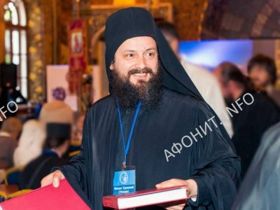 Афонский монах Ермолай (Чежия), Пантелеимонов монастырь на Святой Горе Афон
