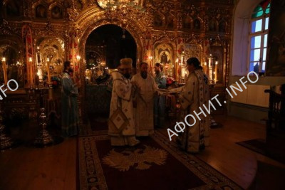 Рукоположение иеродиакона Евлогия (Иванова) во иеромонаха