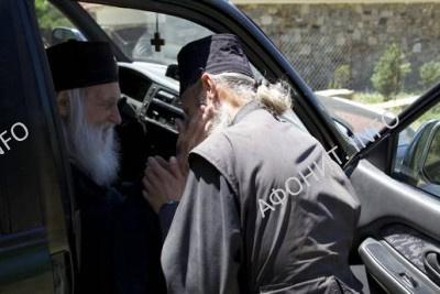 игумен Иеремия посетил обитель Старый Русик