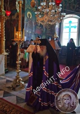 100-летний афонский старец Схиархимандрит Иеремия (Алёхин), игумен Русского на Афоне Пантелеимонова монастыря