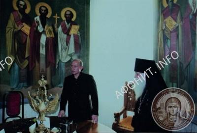 В Пантелеимоновом монастыре на Афоне