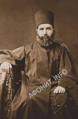Ученый схимонах и библиотекарь о. Матфий (Ольшанский)