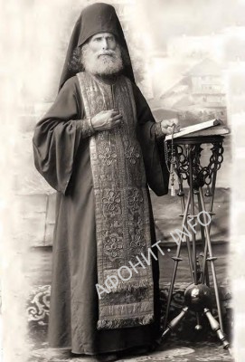Афонский старец Венедикт (Барклая)