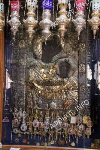 Иверская икона Божией Матери. Святая Гора Афон