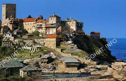 Монастырь Пантократор. Святая гора Афон