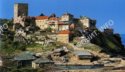 Афонский монастырь Пантократор