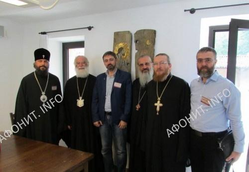 Делегация УПЦ с Патриархом Александрийским и всей Африки Феодором II
