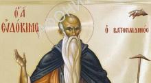 Преподобный Евдоким Ватопедский, Новоявленный
