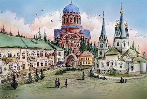 Филейский монастырь. Реконструкция