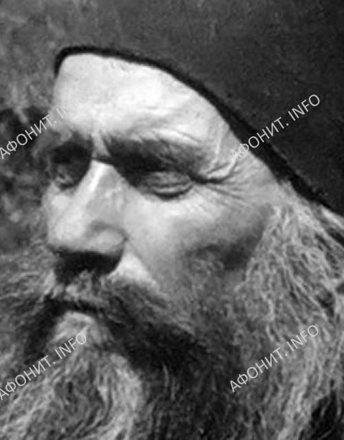 Преподобный Силуан Афонский. Икона письма Л.Успенского