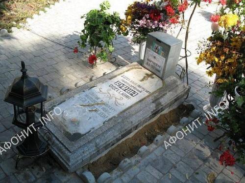 Место погребения преподобного Кукши Одесского