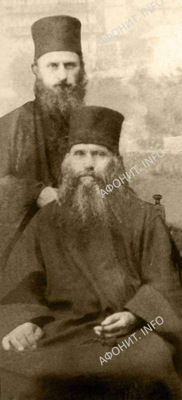 Прп. Силуан Афонский, о.Софроний (Сахаров)