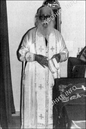 Духовник отец Хрисанф