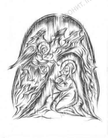 Старец Иосиф причастился из рук Ангела