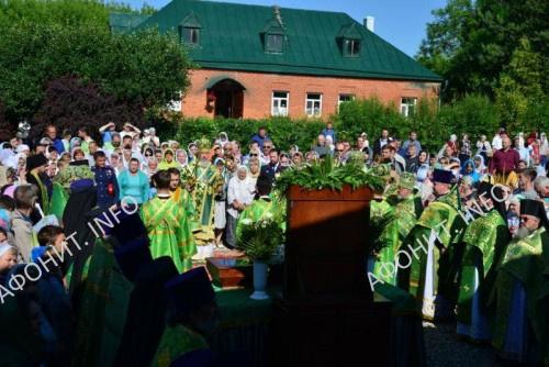 Торжества прославления во святых прп. Василия (Кишкина)