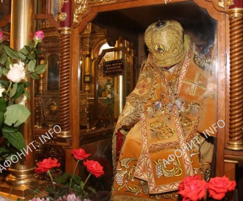 Мощи святителя Афанасия, Патриарха Цареградского, Лубенского чудотворца