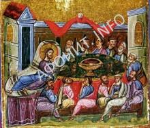 Книжная миниатюра. Византия. XI век. Афон. Дионисиат
