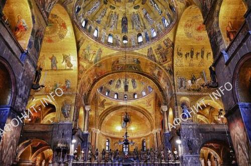 Византийские мозаики в саборе Сан Марко в Венеции