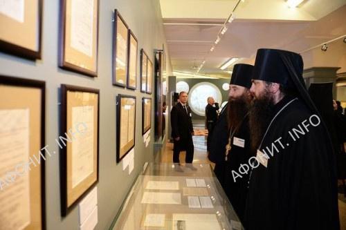 Выставка «Русь и Афон» открылась в музее Храма Христа Спасителя