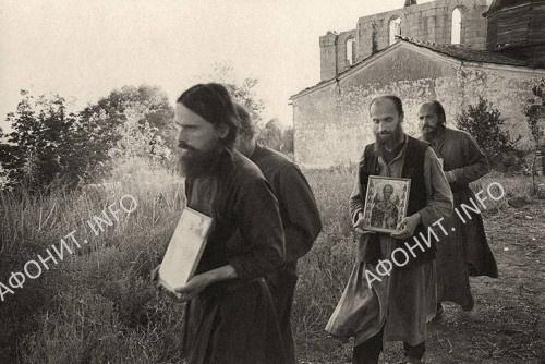 Фотографии возрожденного русского скита Новая Фиваида