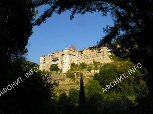 Зографский монастырь на Афоне