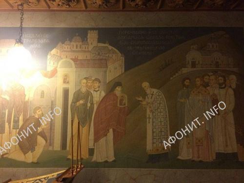 Перенесения с Афона в Зверинецкий монастырь образа Скоропослушницы