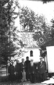 Пантелеимоновский монастырь в Хуст-Колесарово, 1940-е гг.