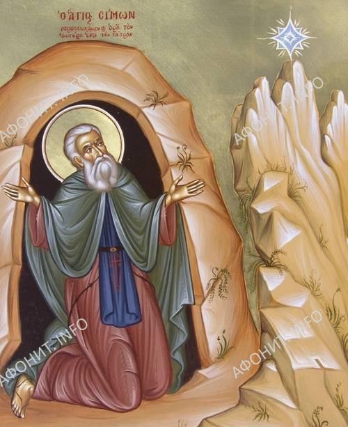 Преподобный Симон Мироточивый