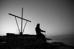 Молитва монаха получи Афоне